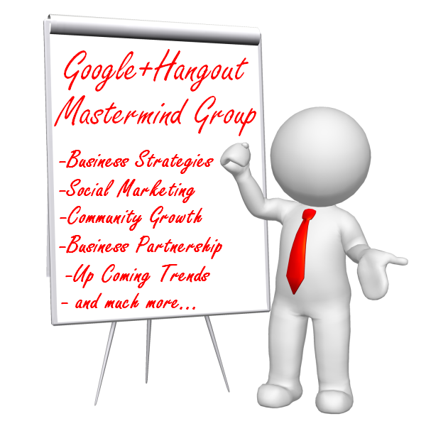Google+ Hangout Mastermind Group