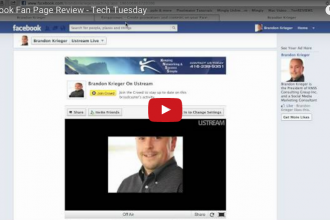 Facebook Fan Page Review Tech Tuesday