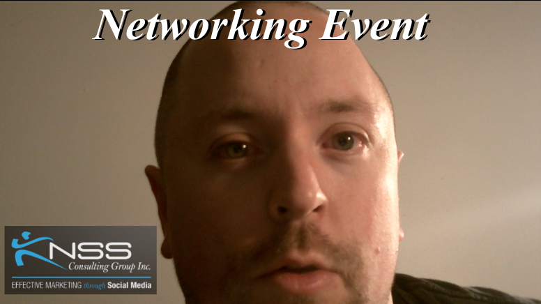 Brandon Krieger Vlog 4- Networking Event