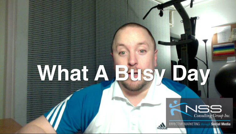 Brandon Vlog 12 – What a Busy Day