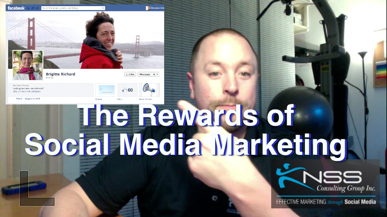 Brandon Vlog 13 – The Rewards of Social Media Marketing