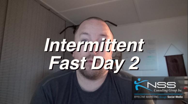 Brandon Vlog 18 Intermittent Fasting Day 2-3