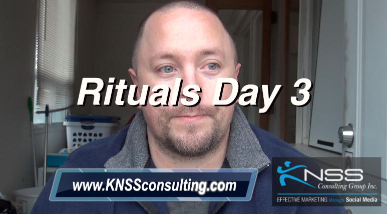Brandon Vlog 19 Morning Rituals Day 3