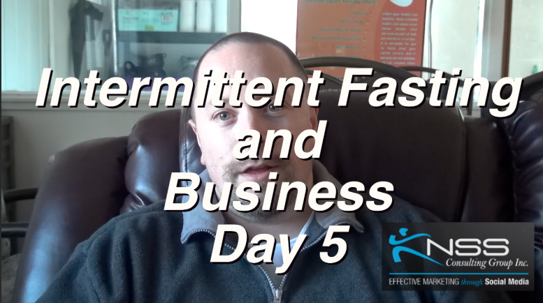 Brandon Vlog 21 Intermittent Fasting and Business Day 5