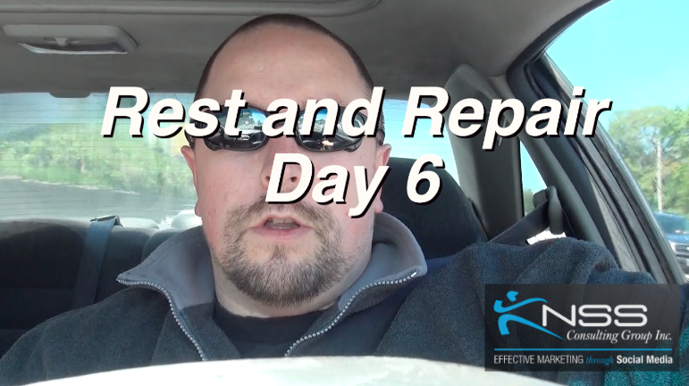 Brandon Vlog 22 – Intermittent Fasting Day 6 – Rest and Repair