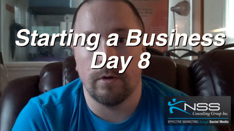 Brandon Vlog 24 – Intermittent Fasting Day 8 Starting a New Business