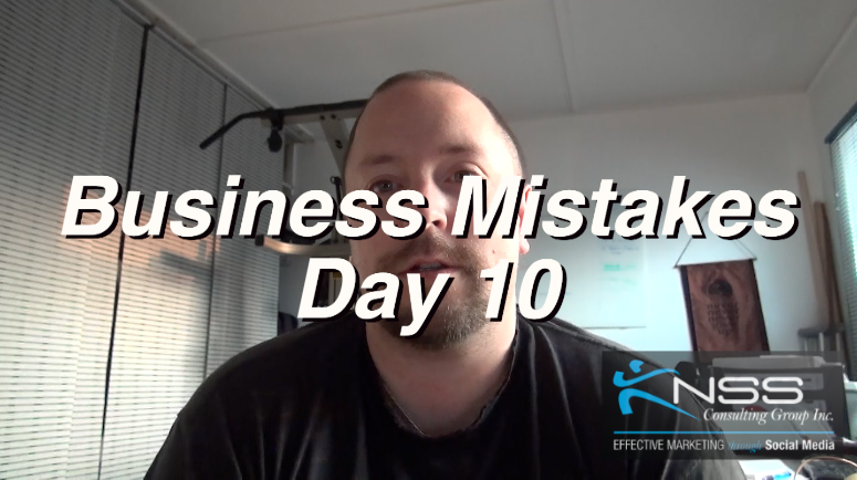Brandon Vlog 26 – Intermittent Fasting Day 10 Business Mistakes