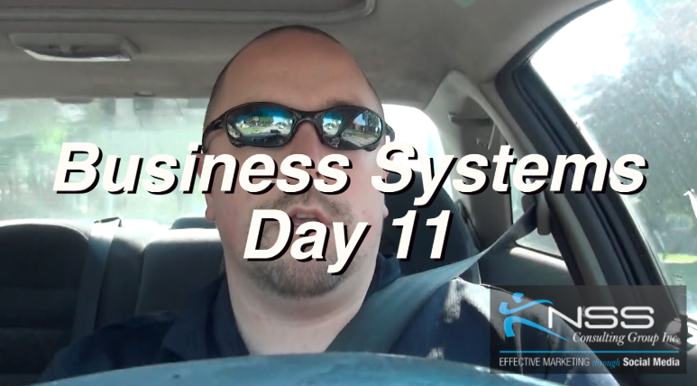 Brandon Vlog 27 – Intermittent Fasting Day 11 Business Systems