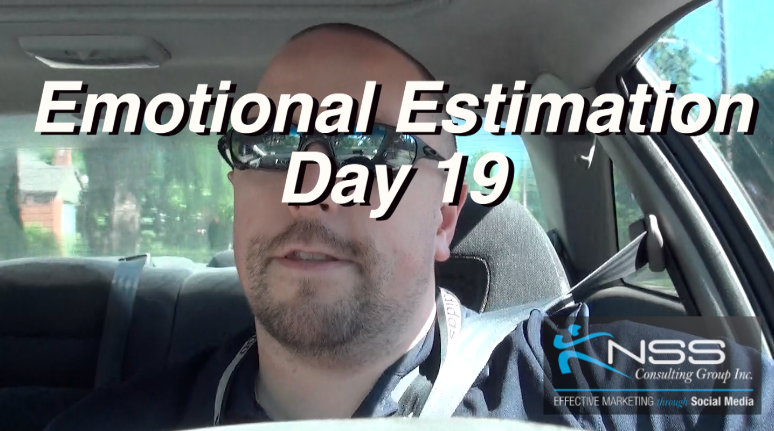 Emotional Estimation – Intermittent Fast Day 19 – Brandon Vlog 33
