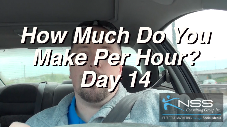 How Much Should You Be Making Per Hour? – Brandon Vlog 30 – Intermittent Fasting Day 14