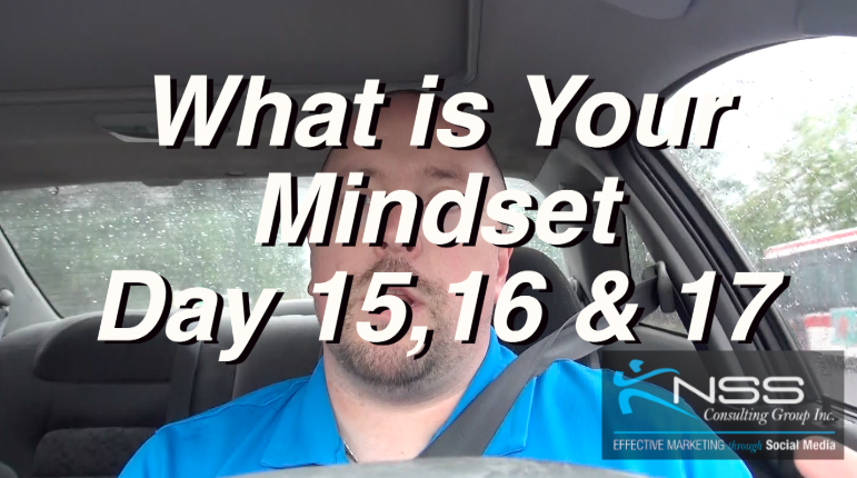 What is your mindset? -Brandon Vlog 31- Intermittent Fast Day 15, 16 and 17