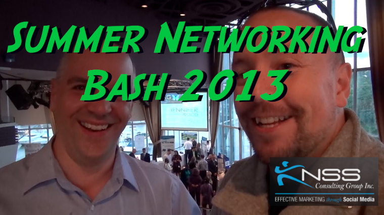 Summer Networking Bash 2013 - Brandon Krieger KNSS Consulting