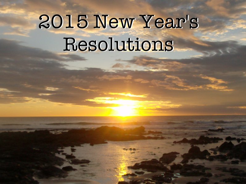 What Is Your New Year's Resolution For 2015?