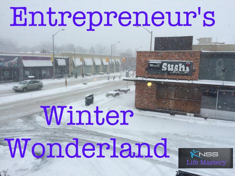 Entrepreneurs Winter Wonderland