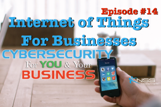 Internet of Things for Business? Cybersecurity For You & Your Business EP #14